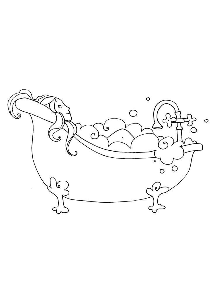 malvorlagen badewanne  ausmalbilder kostenlos zum ausdrucken