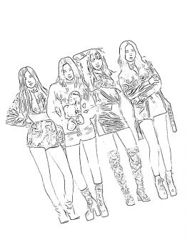 BlackPink-coloring-pages-7