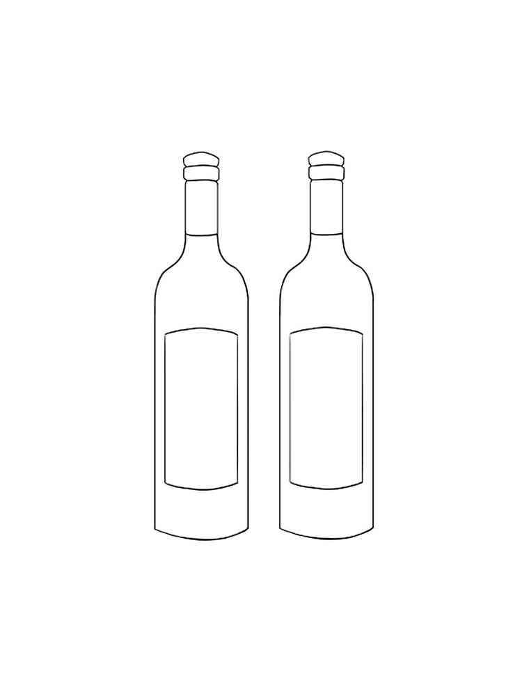 malvorlagen flasche  ausmalbilder kostenlos zum ausdrucken