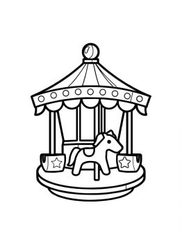 Carousel-coloring-pages-12