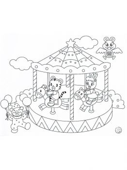 Carousel-coloring-pages-15