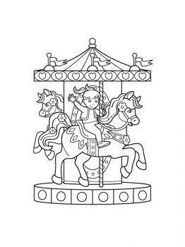 Carousel-coloring-pages-2