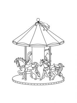 Carousel-coloring-pages-4
