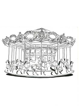 Carousel-coloring-pages-5