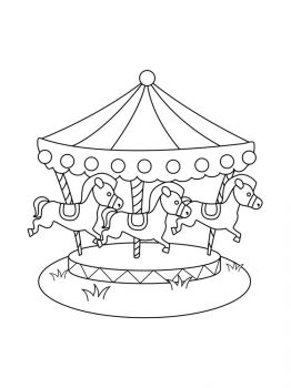 Carousel-coloring-pages-6