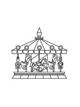 Carousel-coloring-pages-7