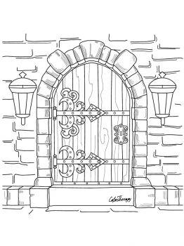 Door-coloring-pages-12