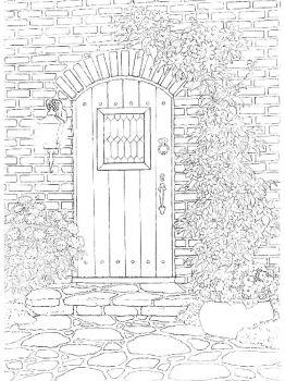 Door-coloring-pages-14