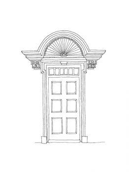 Door-coloring-pages-2