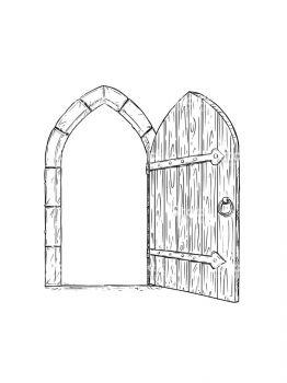 Door-coloring-pages-3