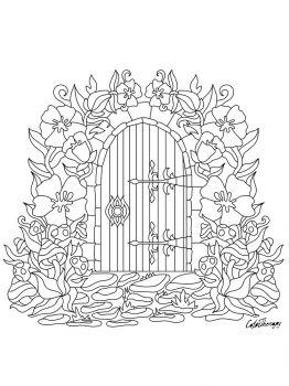 Door-coloring-pages-4