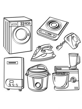 Home-Appliances-coloring-pages-33