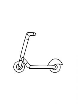 Kick-Scooter-coloring-pages-1
