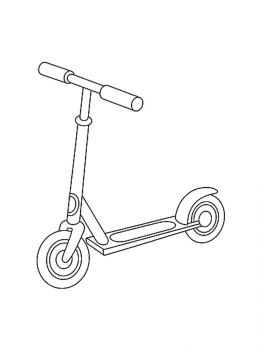 Kick-Scooter-coloring-pages-11