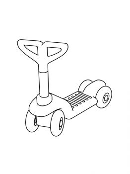 Kick-Scooter-coloring-pages-4