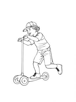 Kick-Scooter-coloring-pages-5