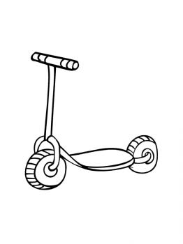 Kick-Scooter-coloring-pages-8