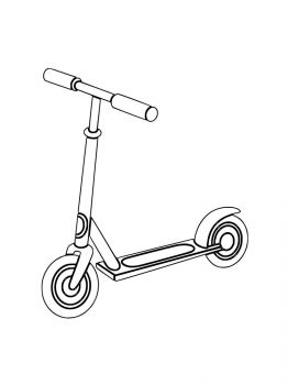 Kick-Scooter-coloring-pages-9