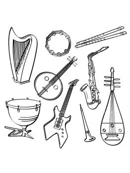 Musical-Instruments-coloring-pages-28