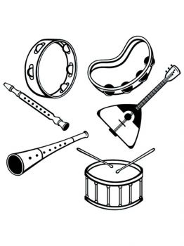 Musical-Instruments-coloring-pages-6