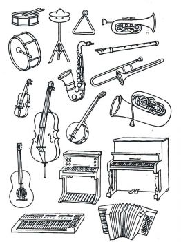 Musical-Instruments-coloring-pages-7
