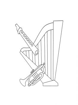 Musical-Instruments-coloring-pages-8