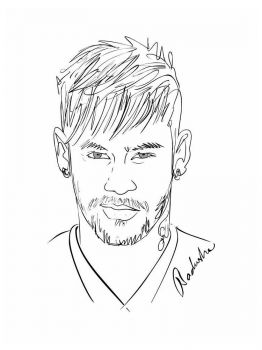 Neymar-coloring-pages-2
