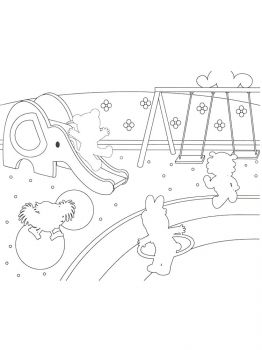 Playground-coloring-pages-1
