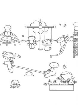 Playground-coloring-pages-11