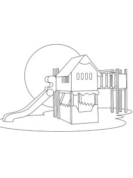Playground-coloring-pages-6