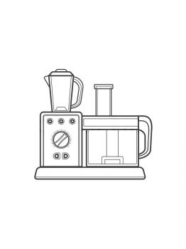 Stand-Mixer-coloring-pages-2