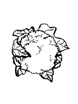 Vegetables-Cauliflower-coloring-page-4