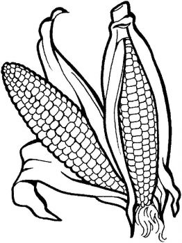 Vegetables-Corn-coloring-page-5