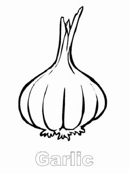Vegetables-Garlic-coloring-page-3