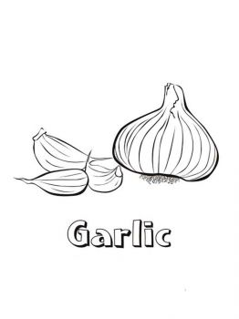 Vegetables-Garlic-coloring-page-6