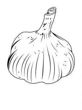 Vegetables-Garlic-coloring-page-7
