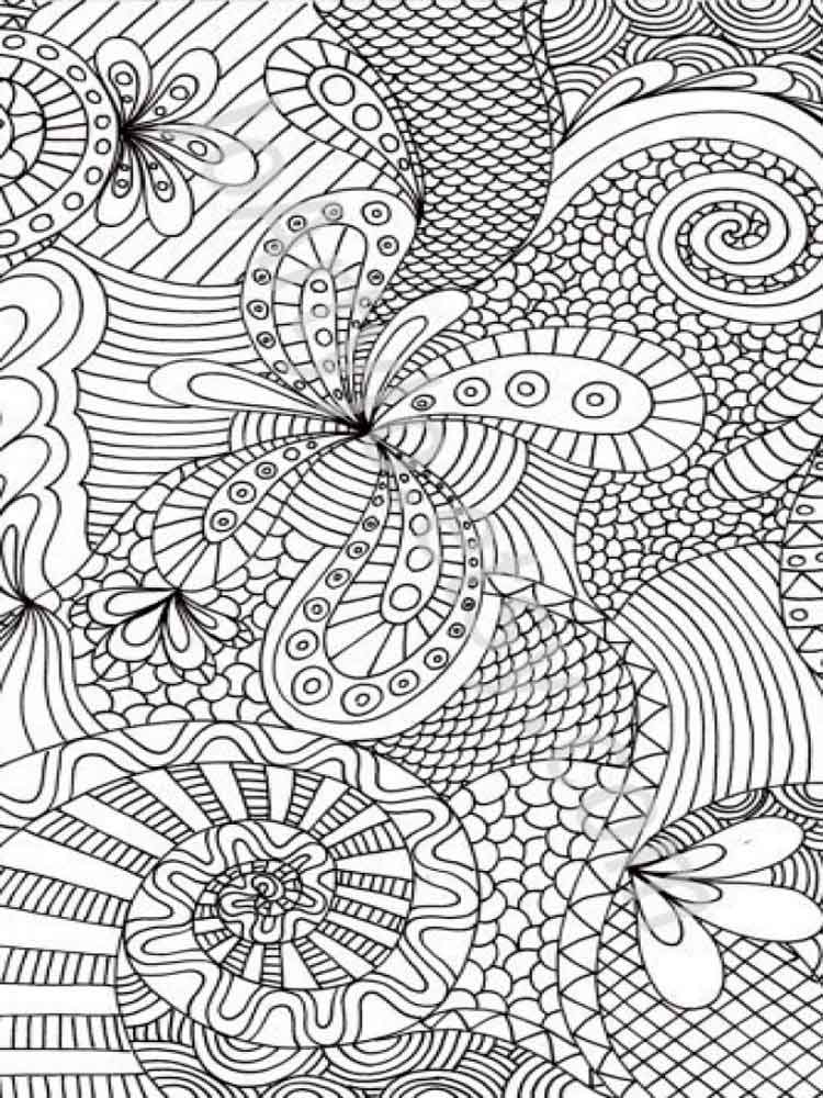 adult absract printable coloring pages   Free Adult coloring pages. Printable or download Abstract ...