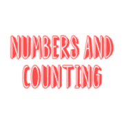 Counting and Numbers coloring pages