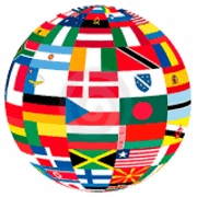 Flags of the World coloring pages