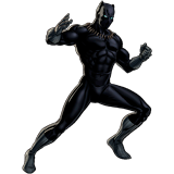 Black Panther para colorir