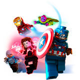 Coloriages Lego Marvel