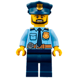 Coloriages Lego Police