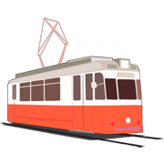 Coloriages Tramway