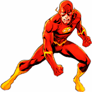 DC Comics Flash para colorir