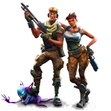 Fortnite para colorir