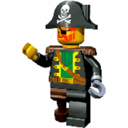 Lego Pirates para colorir