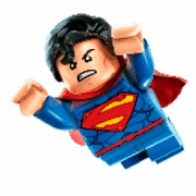 Lego Superman para colorir