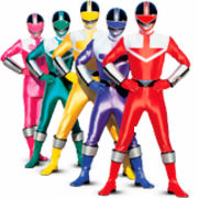 Ausmalbilder Power Rangers