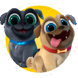 Ausmalbilder Puppy Dog Pals
