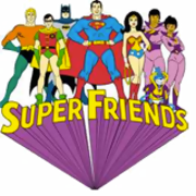 Ausmalbilder Super Friends